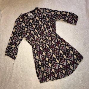 Anthropologie Holding Horses Mira Ikat Shirtdress